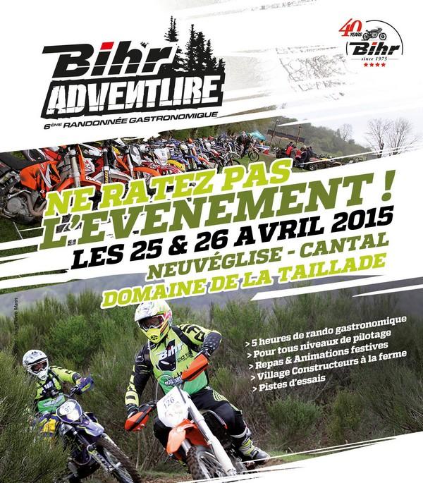 Rando moto et quad : Bihr Adventure 2è édition