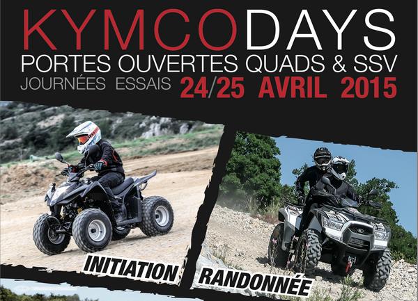 Journées portes ouvertes Kymco quad 2015