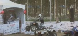 Kymco présent au Salon International des Cycles et Motocycles d'Alger