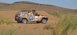 Rallye des gazelles 2015 - Etape 2 : Des Gazelles en mode guerrières !