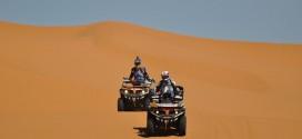 Rallye des Gazelles 2015 - 3 eme journée : le sable de MERZOUGA