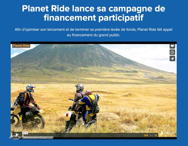 Investissez dans le roadtrip avec Planet Ride