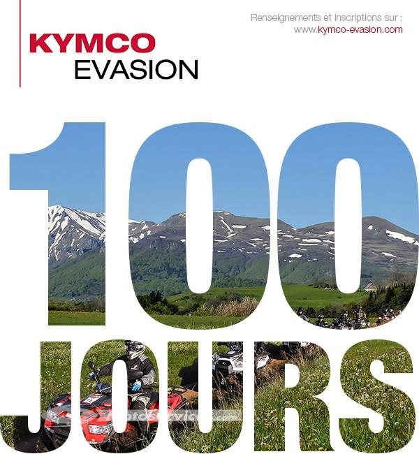 Kymco Evasion 2015 : c'est dans 100 jours !