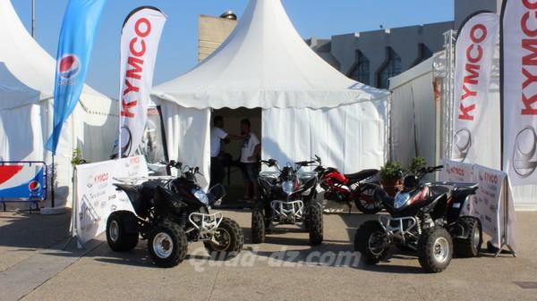 Kymco présent au Festival International des Sports Extrêmes d'Alger