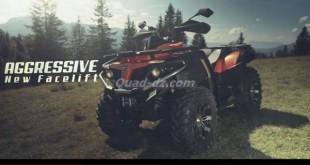 Vidéo : Quad CF Moto CForce 550 EFI 4×4