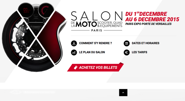 Salon de la moto de Paris : on se prépare !