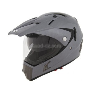 Shiro Algérie : le casque cross MX-311 gris mat