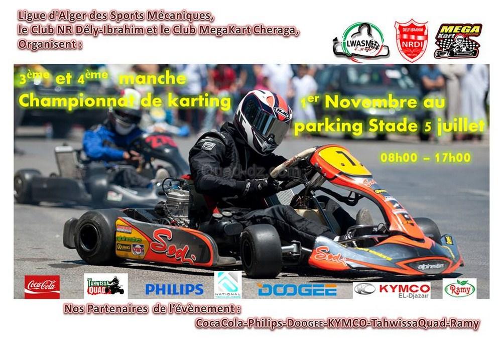 Tahwissa Quad sponsorise le Karting