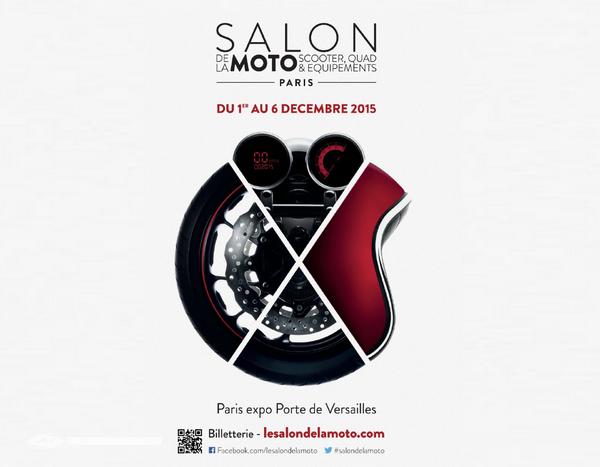 Le Salon de la Moto de Paris ouvre aujourd'hui !