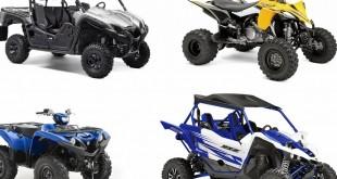 Nouveautés quad et SSV Yamaha, les tarifs