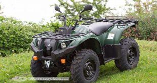Le Yamaha Grizzly 450 disponible en version homologuée T3