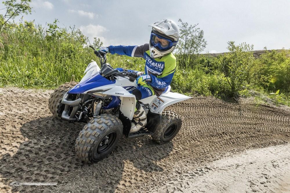 Yamaha YFZ50 : nouveau quad pour enfants de 6 à 9 ans