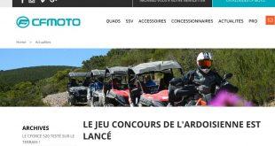 Nouveaux sites internet CF MOTO et GOES