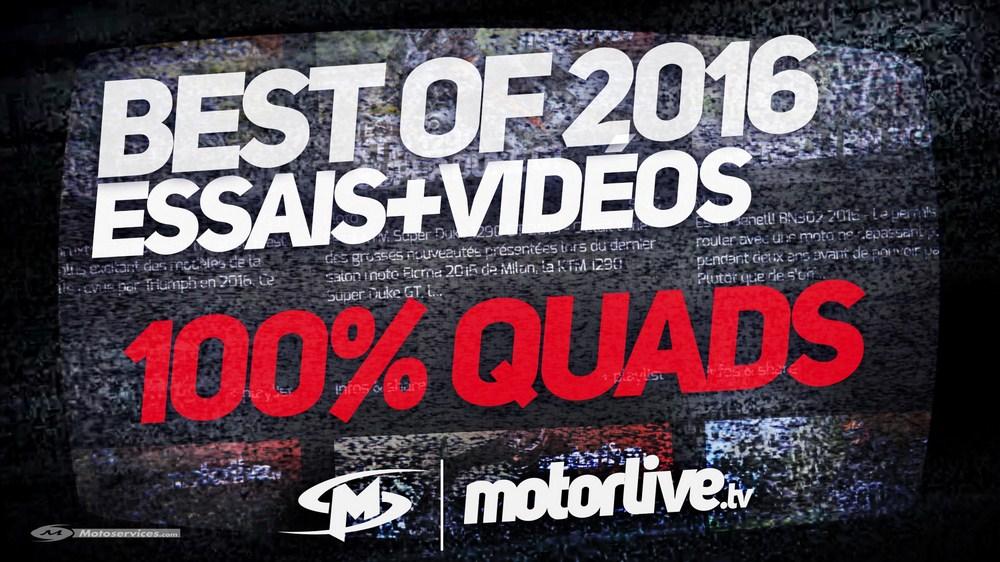 MotoServices : Best of été 2016 : nos essais et vidéos quad/SSV