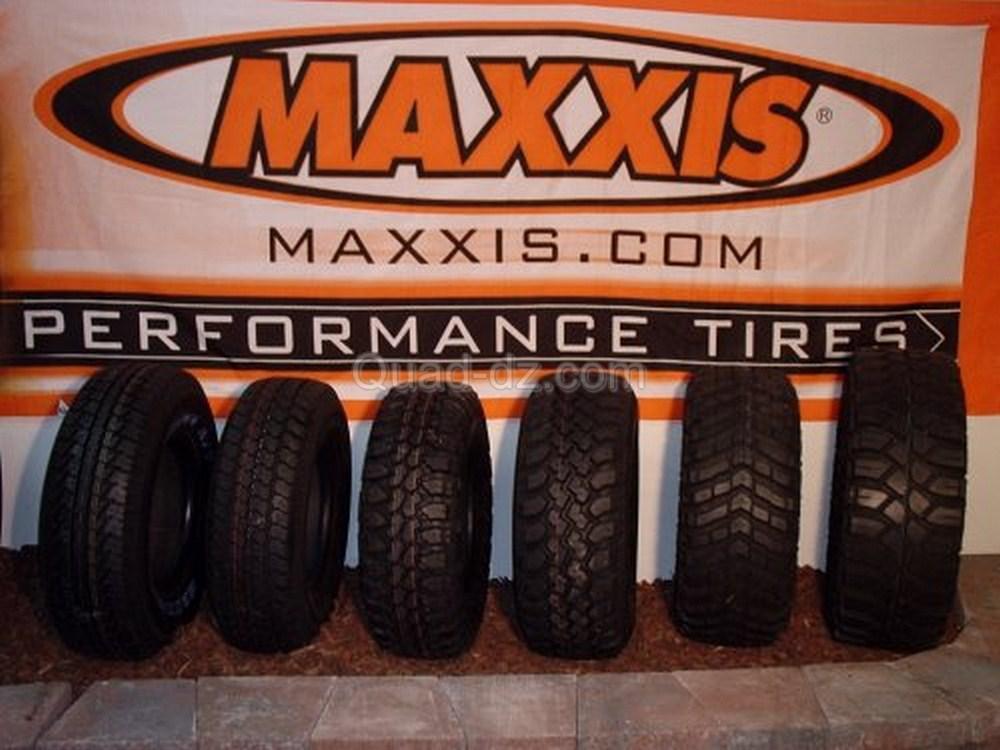Kymco Algérie : arrivage de pneus pour quad Maxxis