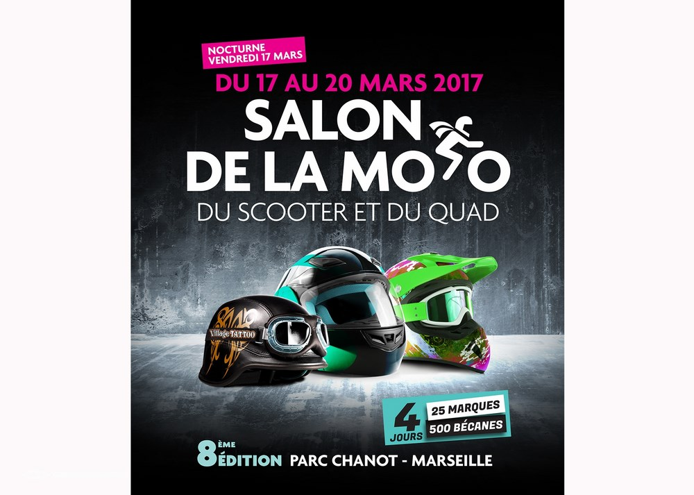salon de la moto de marseille 2017 c est ce week end au parc chanot quad dz. Black Bedroom Furniture Sets. Home Design Ideas