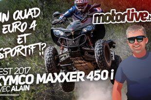 Vidéo Kymco Maxxer 450i SE 2017