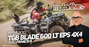 Vidéo TGB Blade 600 LT EPS 4X4
