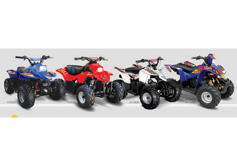 Hytrack, une gamme complète de quads enfant