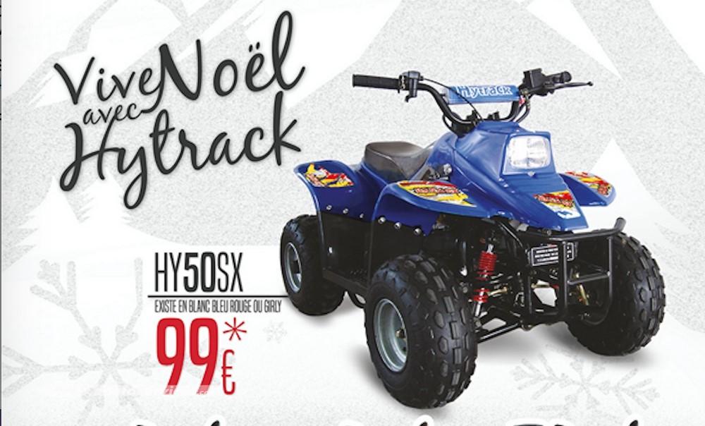 Un quad acheté, un quad offert chez Hytrack !
