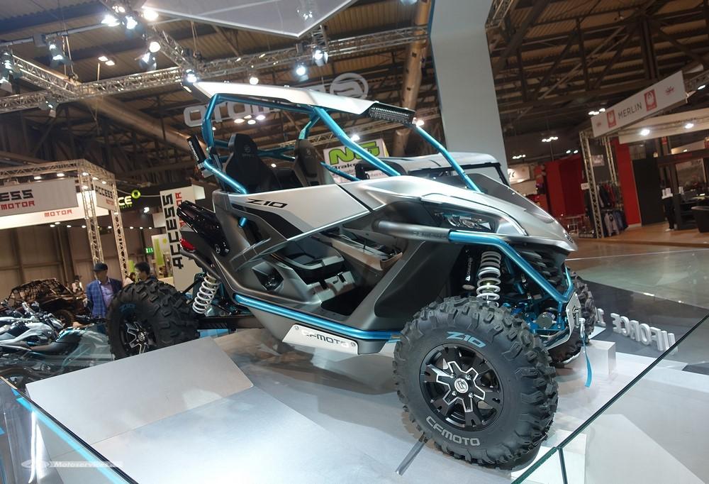 QUAD - CFMoto attaque 2018 au complet - Eicma 2017