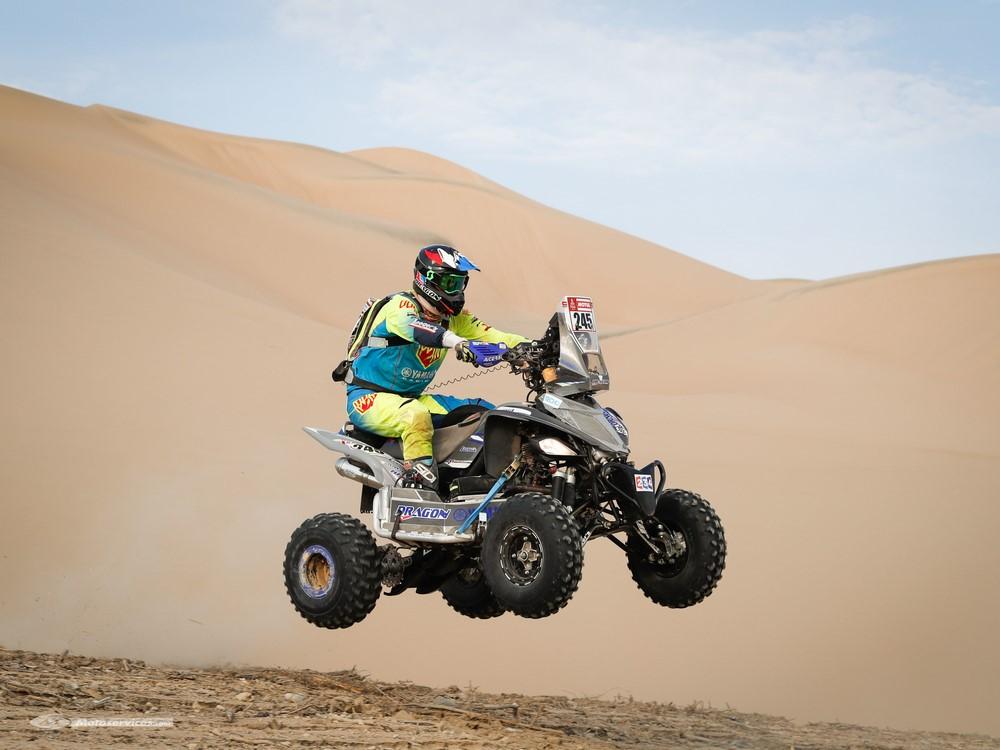 Dakar quad 2018 : les pilotes sud-américains et Yamaha