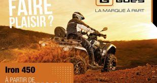 Financement quad : les bons plans CFMoto et Goes