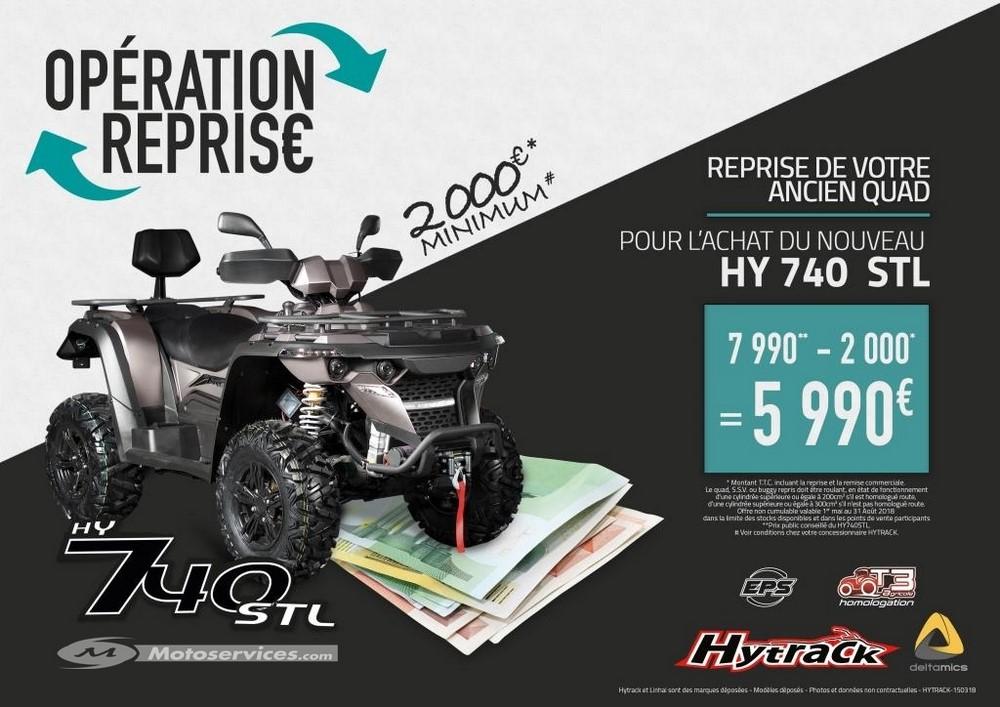 2000€ de reprise sur un Hytrack 740 STL !