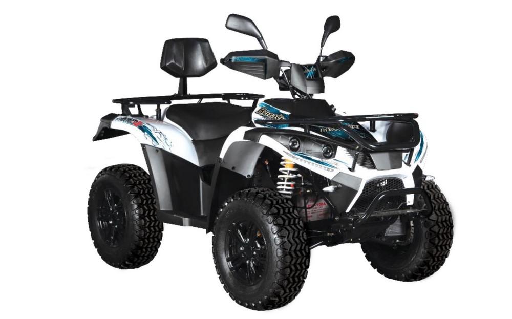Hytrack lance sa gamme quad électrique