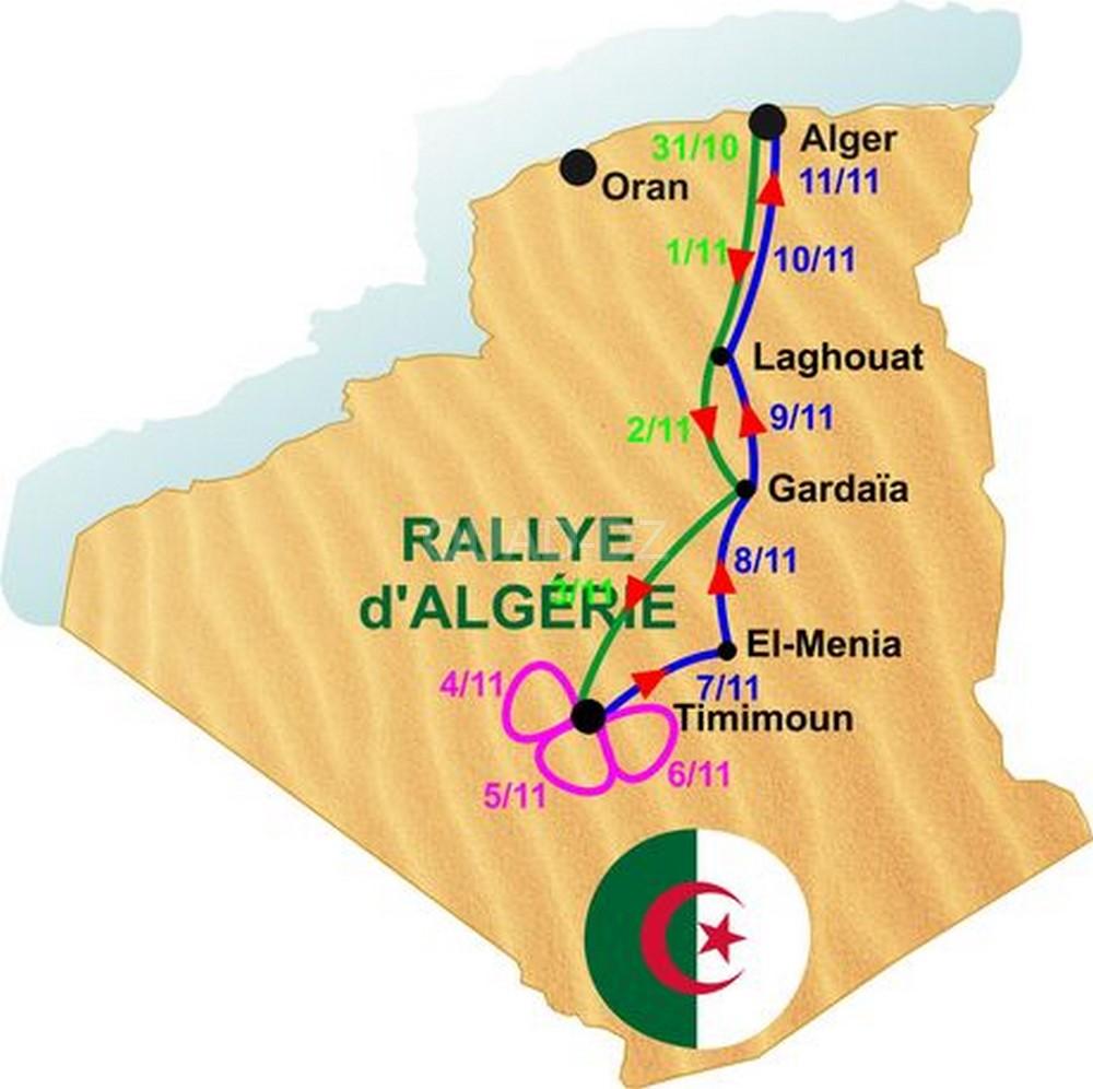 """Sports Mécaniques : Des nouveautés pour le 4e """"Rallye Sahari"""""""