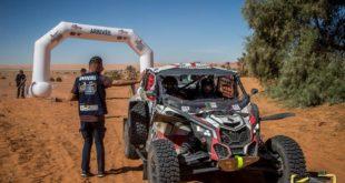 Challenge Sahari international 2018 : début de la 2ème étape sur une distance de 92 km