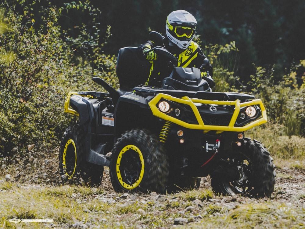 Can-Am 2019 : une gamme quads et SSV homologués sans bridage !